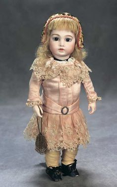 The Great Man's Doll: 141 Petite French Bisque Bebe,Size 2,by Leon Casimir Bru