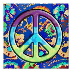 Peace Sign Art | Peace Sign Paintings & Framed Artwork by Peace ...