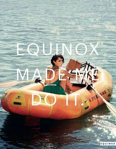 Equinox campaign by Widen + Kennedy