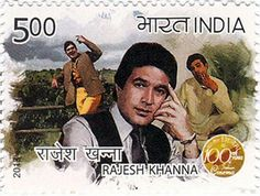 Stamp: Rajesh Khanna (India) Years of Indian Cinema) Mi:IN 2749 Rare Stamps, Old Stamps, Vintage Stamps, Vintage Ads, Bollywood News In Hindi, Bollywood Photos, Indian Bollywood, Maldives, Sri Lanka