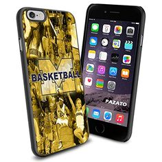 NCAA Michigan Basketball , Cool iPhone 6 Smartphone Case Cover Collector iphone TPU Rubber Case Black Phoneaholic http://www.amazon.com/dp/B00UU18TKM/ref=cm_sw_r_pi_dp_A3Amvb18XBV23