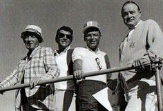 Bing Crosby, Dean Martin, Frank Sinatra and Bob Hope / AS1966