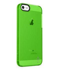 iPhone 5 / 5S Belkin Shield Sheer Matte Case - Groen