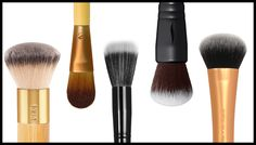 The Best Foundation Brushes: A great foundation brush can blend, smooth, and set your favorite foundation for a flawless, even finish. Whether you're looking to expand your brush collection or you're still using your fingertips to apply your foundation, check out some of Influenster Nation's favourite foundation brushes to get started on your search. #TheHub #Foundation #Makeup #InfluensterNation #TopPicks