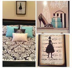 room ideas on pinterest tiffany blue bedroom black
