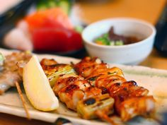 Yakitori - Pinchos de pollo