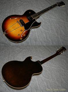 1958 Gibson ES-225 D.....delivering that P-90 punch..... http://www.garysguitars.com/catalog/1958-gibson-es-225-d