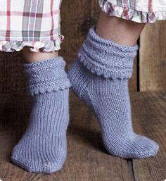 Free Bed Socks Pattern from Vogue Knitting · Knitting | CraftGossip.com