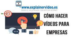 #VideosparaEmpresas #VideoMarketing #VideosExplicativos #ExplainerVideos Quieres conocer cómo hacer vídeos para empresas? En este post te lo contamos.