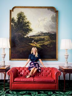 Nashville-raised actress Reese Witherspoon at the Greenbrier in West Virginia. (Photo by Paul Costello)