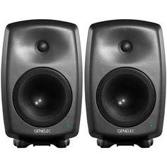 Genelec 8040A Active Studio Monitors