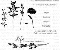 Life Stamp Set: Papertreyink