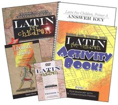 Latin for Children Primer A Mastery Bundle | Main photo (Cover)