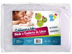 Colchonete Saúde e Conforto de Látex Baby - Lilás - Fibrasca 65 x 4 x 90 cm com as melhores condições você encontra no Magazine Raimundogarcia. Confira!