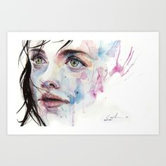 just one in a thousand Art Print