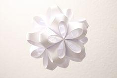 Paper Icosahedron sculpture by Patrick Krämer