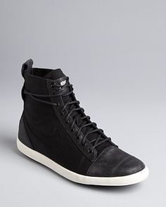 Nike High Top Lace Up Sneakers - Citycraze Mid