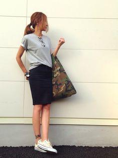 kayoさんのTシャツ・カットソー「UNIQLO 」を使ったコーディネート