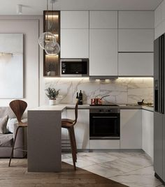 3 Kitchen Trends You Should Be Using In Your Home, Alexandra Davies from premium kitchen appliance manufacturer Britannia Living tells me which interior design trends we should be incorporating into ou. Kitchen Room Design, Kitchen Sets, Modern Kitchen Design, Home Decor Kitchen, Kitchen Living, Interior Design Kitchen, Kitchen Furniture, Home Kitchens, Modern Apartment Design