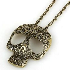 New Arrival Fashion Skeleton Necklace with Alloy[US$2.43]