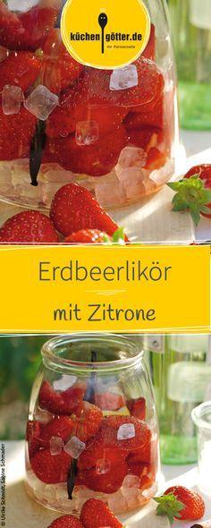 Toll für den Sommer, wenn es frische Erdbeeren in Hülle und Fülle gibt. Nach 4 - 5 Wochen Ruhezeit kann man den Likör genießen. Das Rezept zu dem fruchtigen Likör findet ihr bei uns!