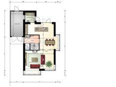 Klassieke woning met schildkap en erkers - begane grond
