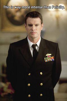 Oh sweet Jesus Scott Foley in a uniform... Does it get any better???