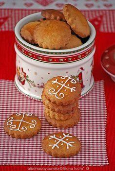 Honey christmas cookies