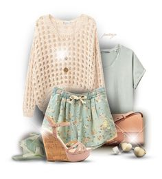 Pastel Love by rockreborn on Polyvore featuring Hope, Jessica Simpson, Chloé, Bee Charming, Ippolita, Marzi and Wildfox