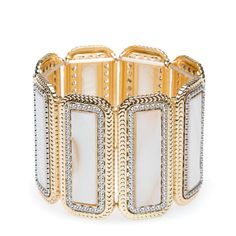 A vintage inspired-cuff.