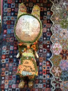 'So many stitches' : Julie Arkell
