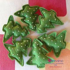 albero+natale+feltro+christmastrees