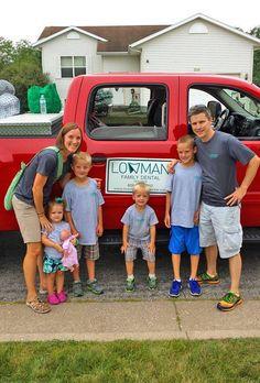Dr. Lowman & his family! #KeepingitlLocal #ShopLocal #BuyLocal #SupportLocal #Familyorientedbusiness #Familyrunbusiness