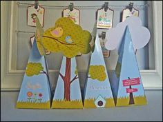 Cone Passarinhos by Oliver Festas Infantis
