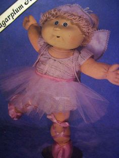 pattern for ballerina outfit, for my old cabbage patch doll.