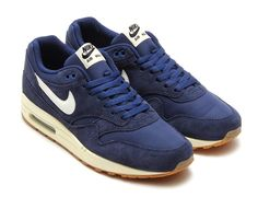 Nike Air Max 1 Suede Pack Midnight Navy Detailed Pictures