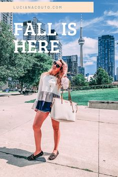 What I wore: my first Fall outfit (kind of) - LUCIANA COUTO
