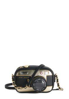 Betsey Johnson Photographic Charm Bag. #modcloth