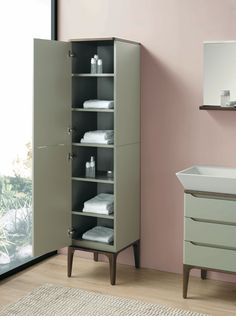 SIGNATURE SERIES by Ronbow Designer: Phoenix Design / Germany / WIDE Collection Tall Cabinet Storage, Locker Storage, Phoenix Design, Germany, Collection, Furniture, Home Decor, Decoration Home, Room Decor