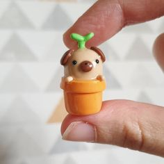 Polymer Clay Ring, Polymer Clay Figures, Diy Arts And Crafts, Cute Crafts, Arte Indie, Clay Art Projects, Cute Clay, Mother's Day Diy, Diy Clay