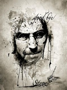 Steve Jobs Digital Paintings - Inspiring Collection