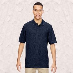 Ash City-North End-Mens Excursion Nomad Performance Waffle Polo-85121