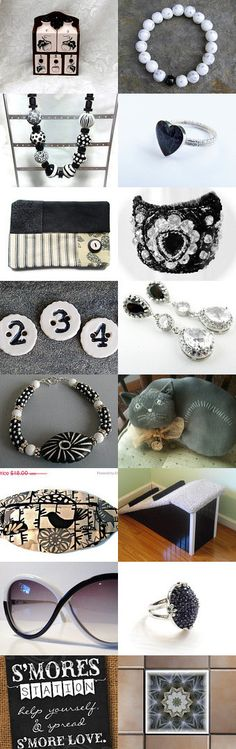 In Black and White by Cori on Etsy--Pinned with TreasuryPin.com #novemberfinds