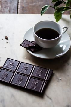 coffee + dark chocolate