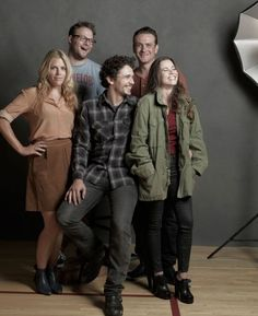 Freaks and Geeks Reunion! Look at all of those stars! It was a great show-only 13 shows then canceled. Judd Apatow show. EXCELLENT!