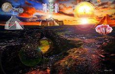 Universo Espiritual Compartiendo Luz: LAS 12 PIRÁMIDES DE THOT