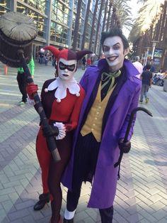 Joker's Harley and Harley's Joker