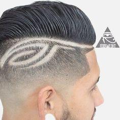 Men 39 s haircuts mens haircut styles and cool mens haircuts for Tattoo hair line