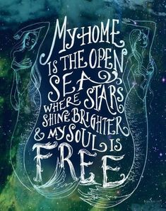 Travel Quotes | The sea is where to be.