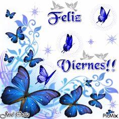 Feliz Viernes Friday Gif, Good Friday, Viernes Gif, Spanish Greetings, Gifs, Good Morning Quotes, Days Of Week, Happy Day, Cute Art